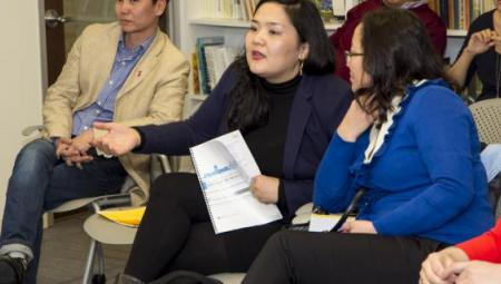 Mongolian journalists convene in Washington, DC to learn about journalism in the United States